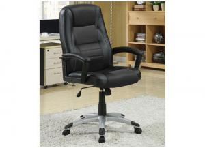 Image for Black & Black Office Chair (East Coast Only)