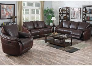 Image for Milton Place Leather Aire* Sofa & Loveseat Set