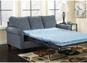 Zeth Denim Full Sofa Bed