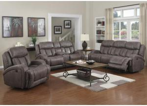 Image for Morgan Creek Power Reclining Sofa and Loveseat